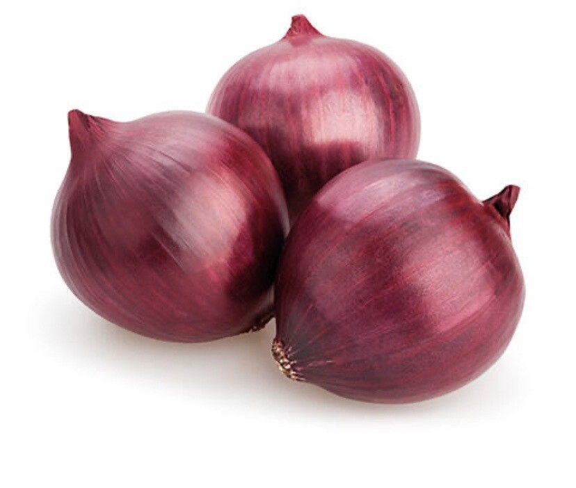 3 Red Onions ( Salad Onion )