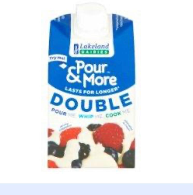 Lakeland Pour & More Double Cream