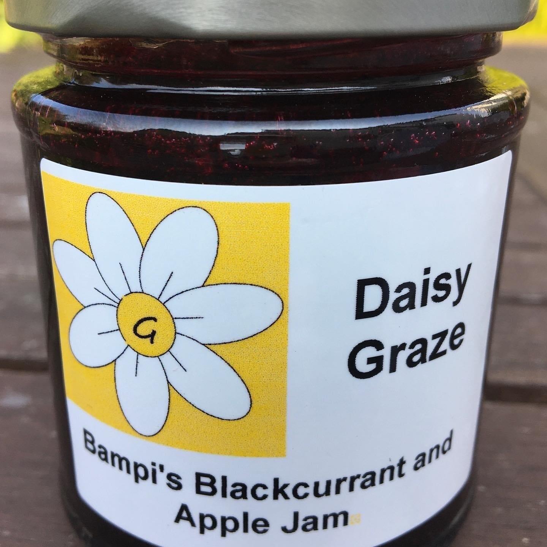 Daisy Graze Bampi's Blackcurrent & Apple Jam