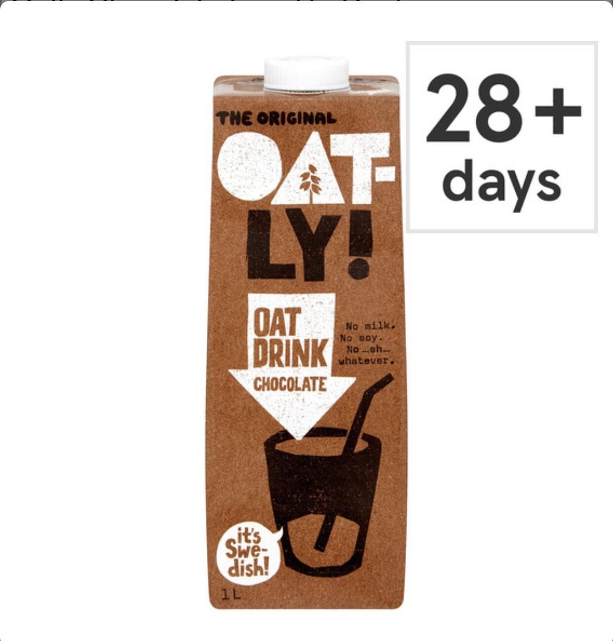 Oatly Chocolate Longlife Drink Alternative 1L