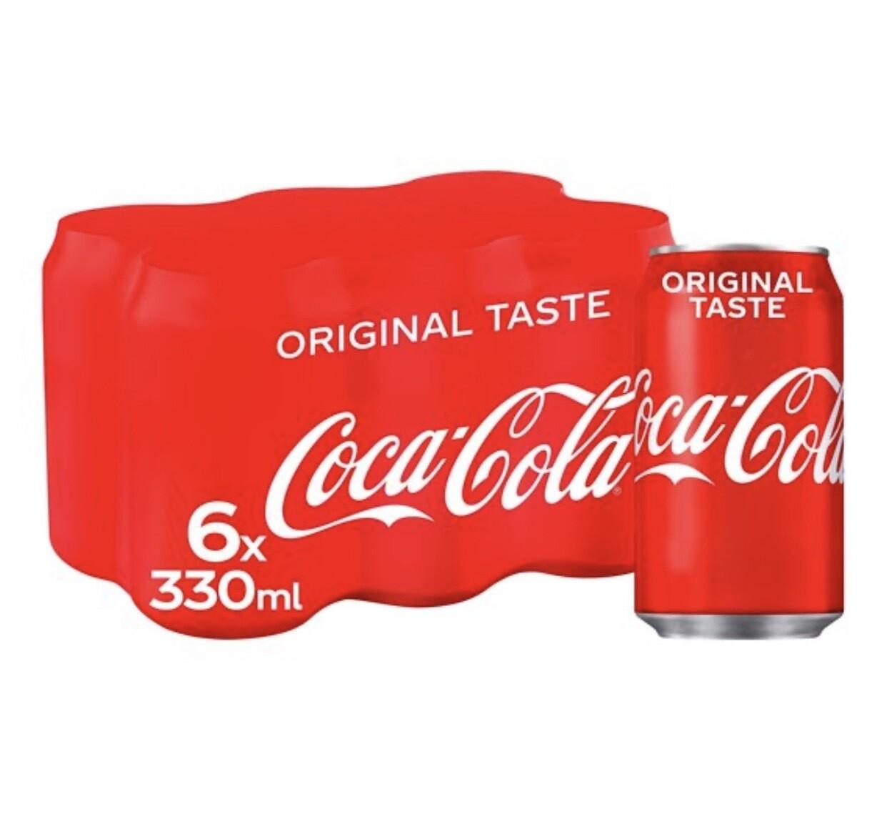 Coca Cola 6X330ml