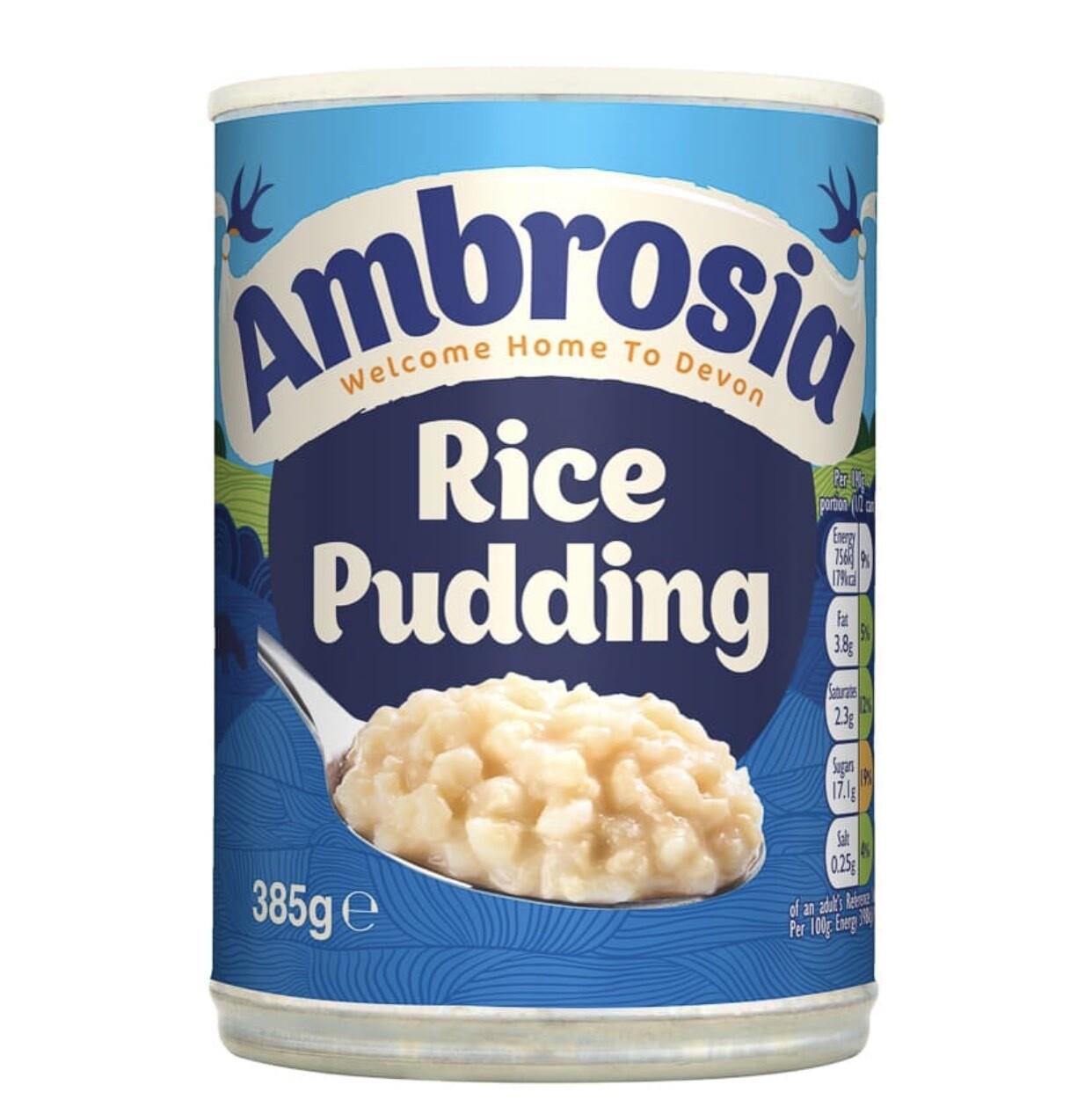 Ambrosia Rice Pudding 385g