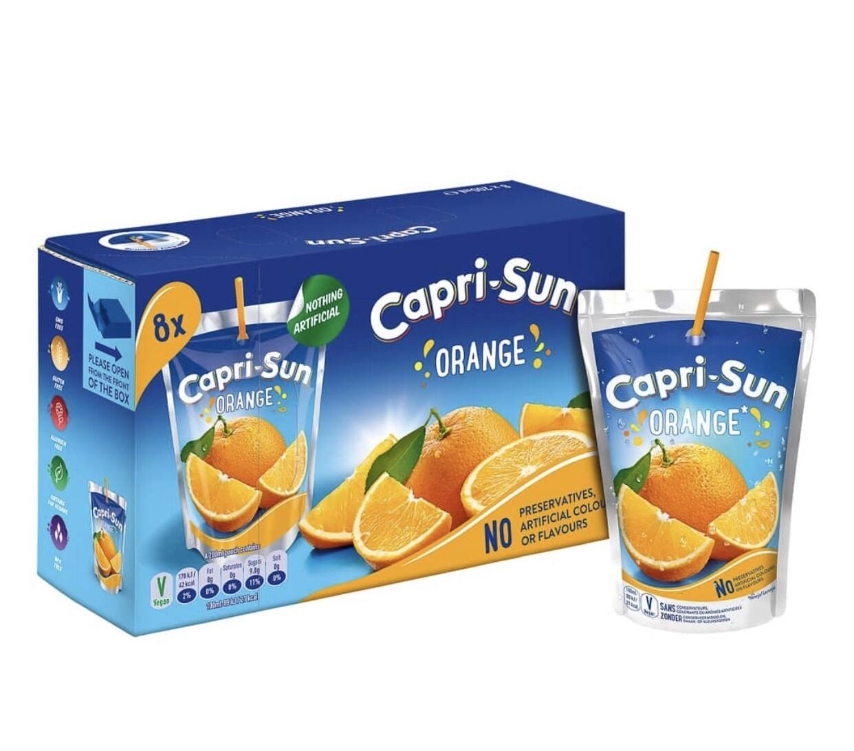Capri- Sun 8 X 200ml
