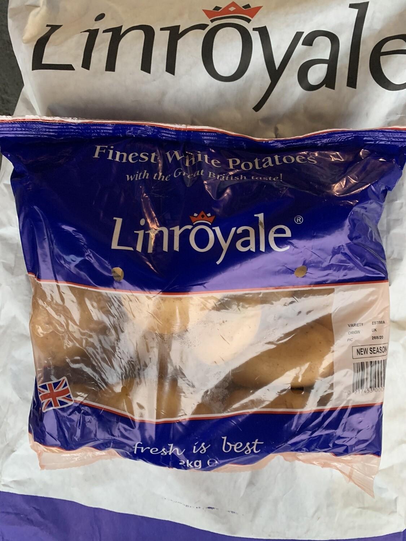 Lynroyle 2kg(white) Potatoes