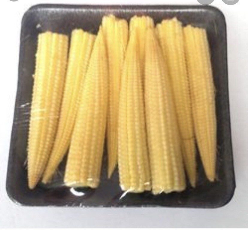 1 Packet Of Baby corn