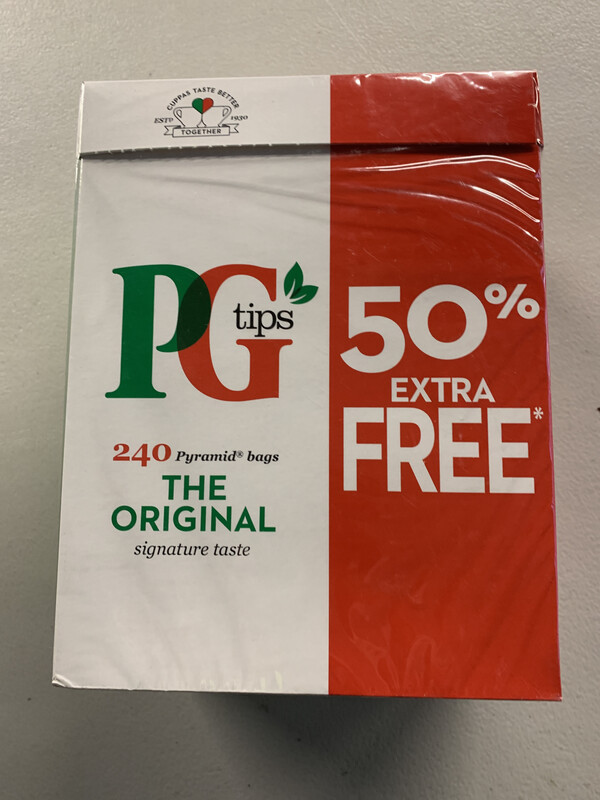 PG Tips One Cup Blend X 240