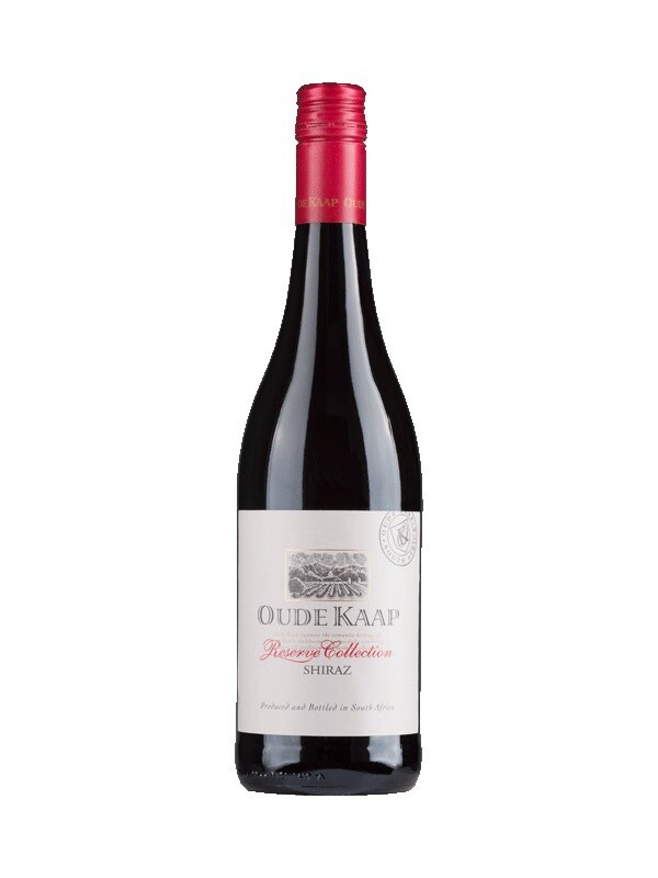 Case (x6 Bottles) Oude Kaap Reserve Shiraz, Western Cape, South Africa 2019