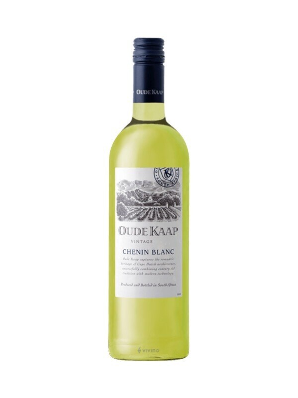 Case (x6 Bottles) Oude Kaap Chenin Blanc ,Western Cape South Africa 2019