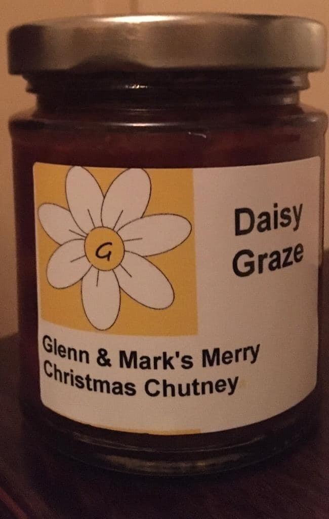 Daisy Graze - Glenn & Marks Merry Christmas Chutney