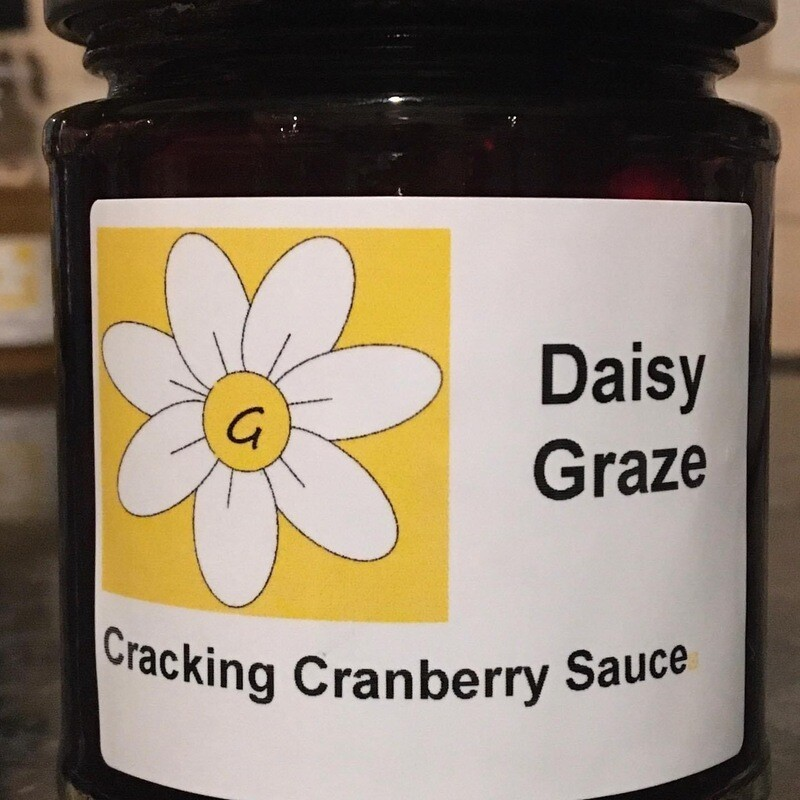 Daisy Graze - Cracking Cranberry Sauce