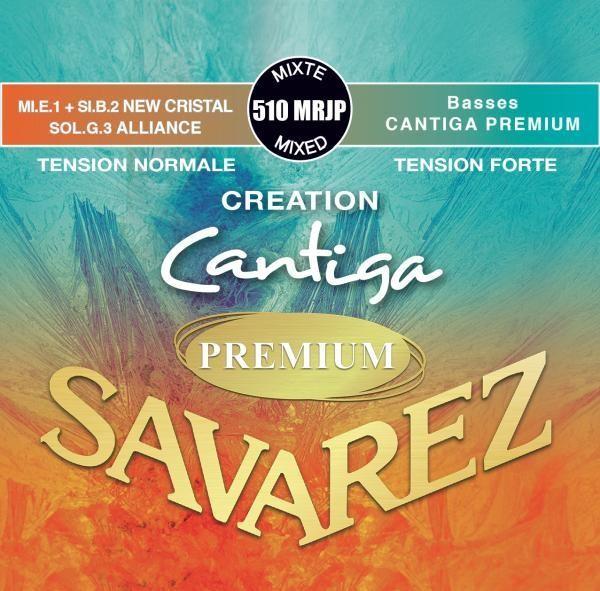 Savarez Cantiga Premium 510 MRJP - Creation Series - Nylon E1 and B2, Carbon G3 - Outstanding Basses!