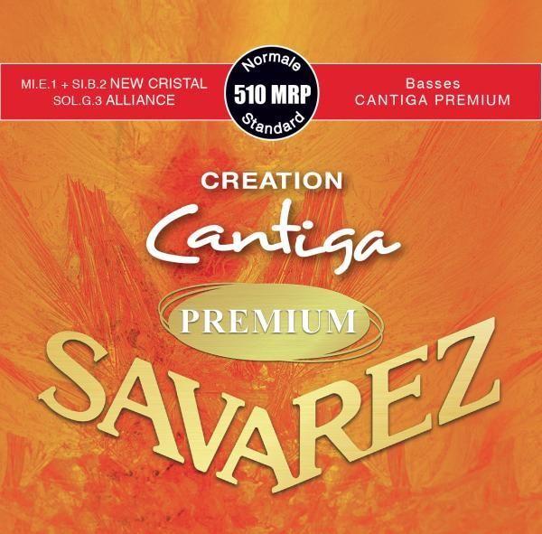 Savarez Cantiga Premium 510 MRP - Creation Series - Nylon E1 and B2, Carbon G3 - Outstanding Basses!