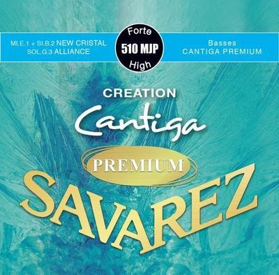 Savarez Cantiga Premium 510 MJP - Creation Series - Nylon E1 and B2, Carbon G3 - Outstanding Basses!
