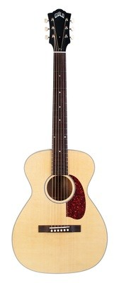 Guild USA M-40E Troubadour - Handmade in the USA - All Solid, Sitka Spruce Top/Mahogany back/sides