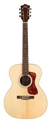 Guild OM-240E, Solid Sitka Spruce top, Mahogany B/S, Westerly Collection, Natural