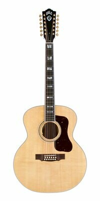 Guild F-512E Maple - Jumbo 12 String Acoustic Electric - Made in the USA