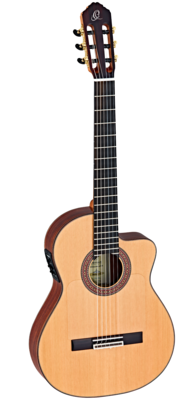 Ortega Ben Woods Signature Flamenco Negra (BWSM) - Solid Western Red Cedar Top, Indian Rosewood Back/Sides - Made in Spain
