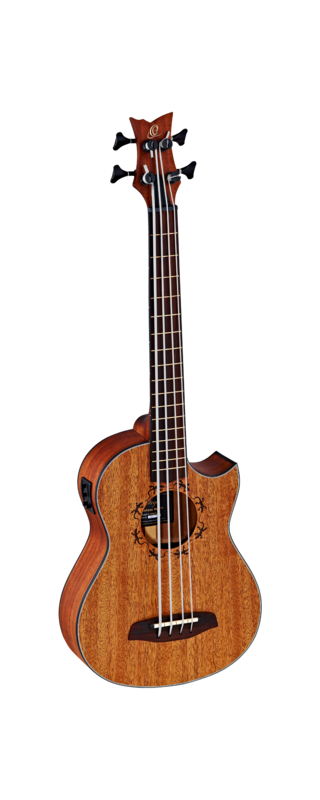 Ortega Ukulele Bass - Lizzy-Pro with gig bag and strap