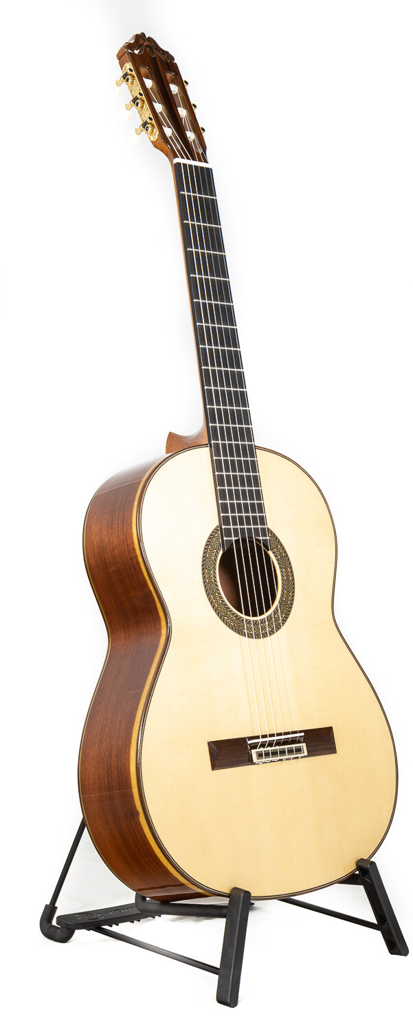Estevé 12 - Professional Level Classical Guitar - Spruce top, Granadillo Back/Sides -  All Solid Woods - Handcrafted in Valencia, Spain