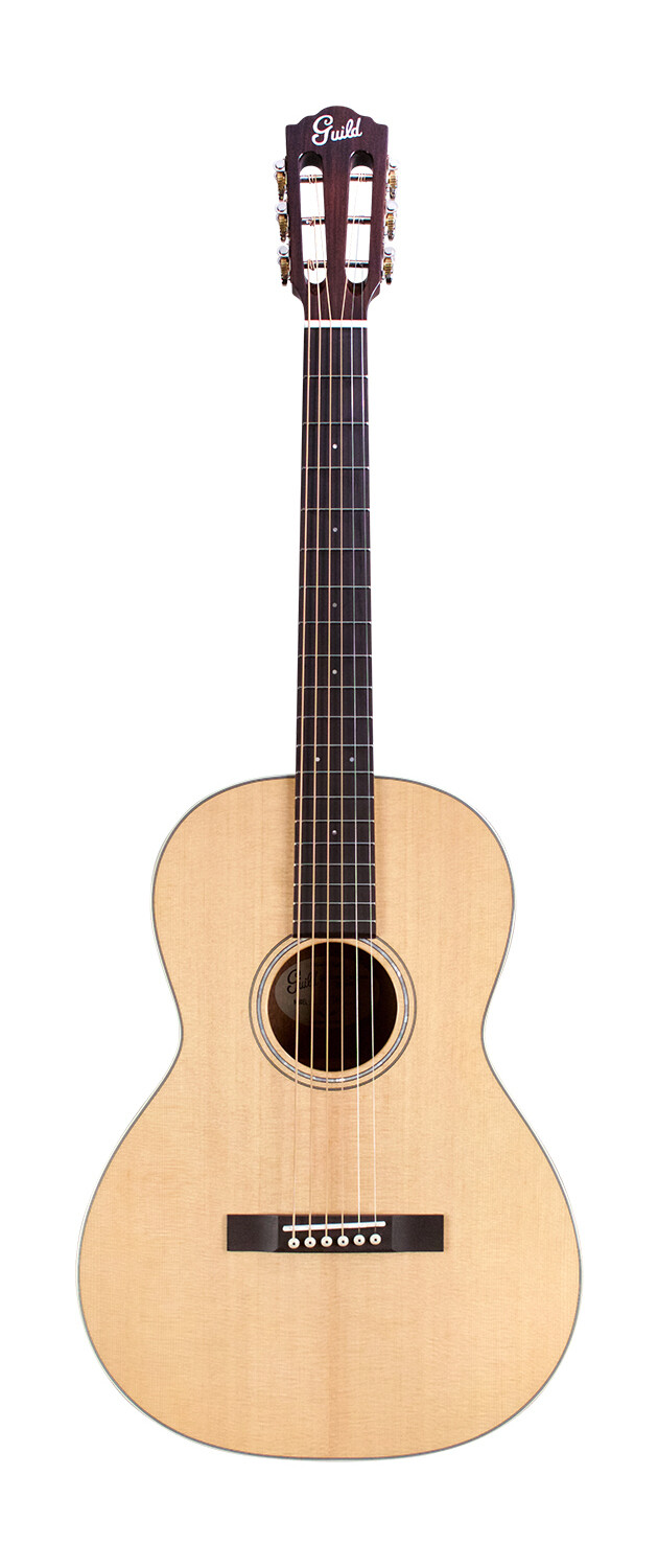 Guild  P-240 Memoir- Solid Sitka Spruce Top / Mahogany,  Parlor Size