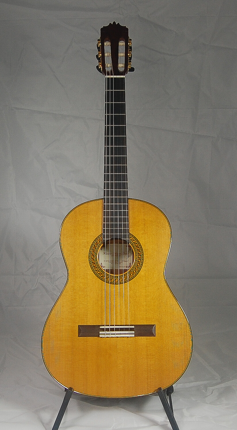 Francisco Navarro Concert Model - All Solid - Cedar top, Palo Escrito Back/Sides - 630mm