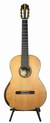 Yulong Guo Concert Model - Cedar Double Top, solid Koa Back/Sides - 650mm Scale Length