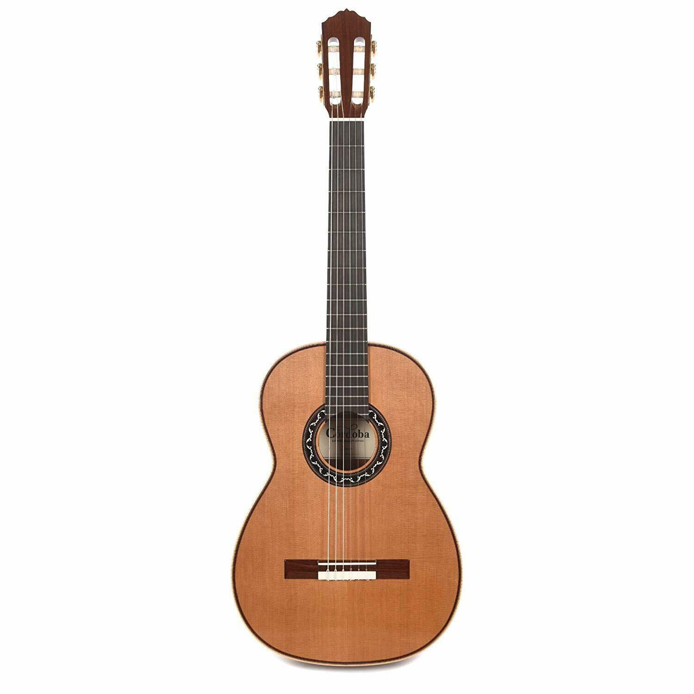 Cordoba Esteso - All Solid Wood - Cedar Top, Pau Ferro Back/Sides  - Nylon String Classical Guitar