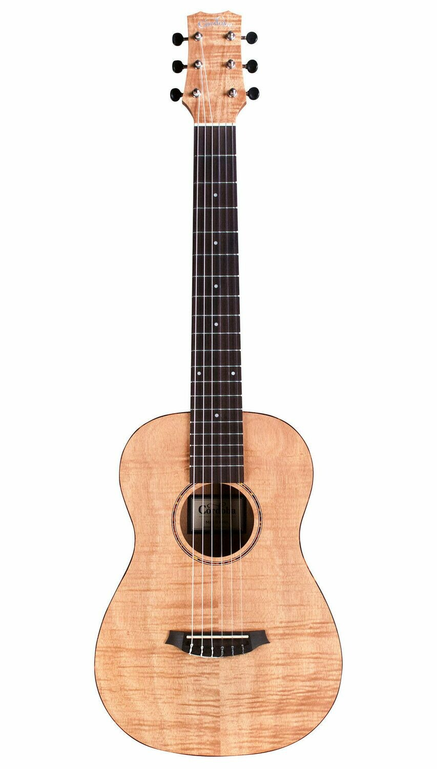 Cordoba Mini II Flamed Mahogany - Travel Guitar