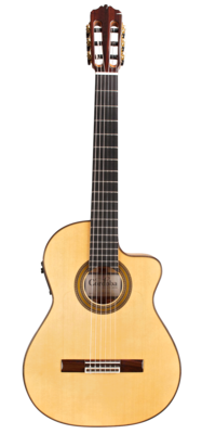Cordoba FCWE Gipsy Kings Reissue - Acoustic Electric Nylon String Thin Body Flamenco Guitar - Made in Spain