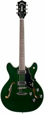 Guild Starfire IV ST - Maple Semi Hollow Body Electric Guitar (Emerald Green)
