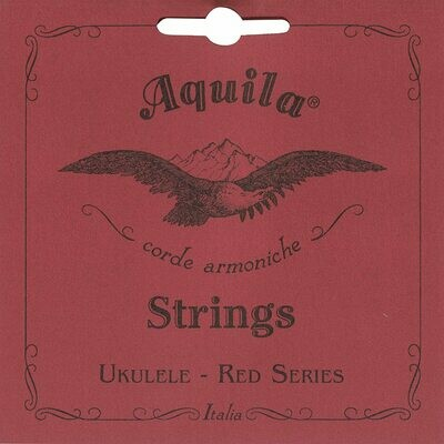 Aquila 87U Red Series Tenor Ukulele String Set - Normal GCEA Tuning