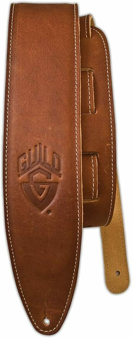 Guild Guitars Leather Guitar Strap - Brown