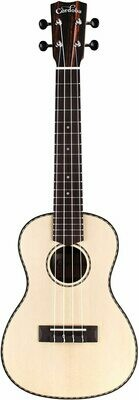 Cordoba 21S - Soprano Ukulele - Solid Spruce Top, Striped Ebony back/sides