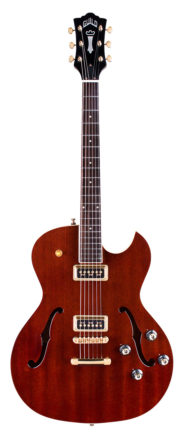 Guild Starfire II ST Dynasonic - Hollow body Electric Guitar - 2020 - Royal Brown
