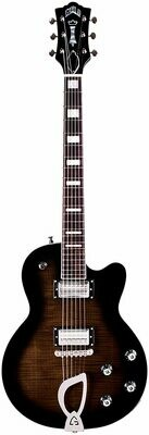 Guild Aristocrat HH Trans Black Burst - Solid Body Electric Guitar - 2020