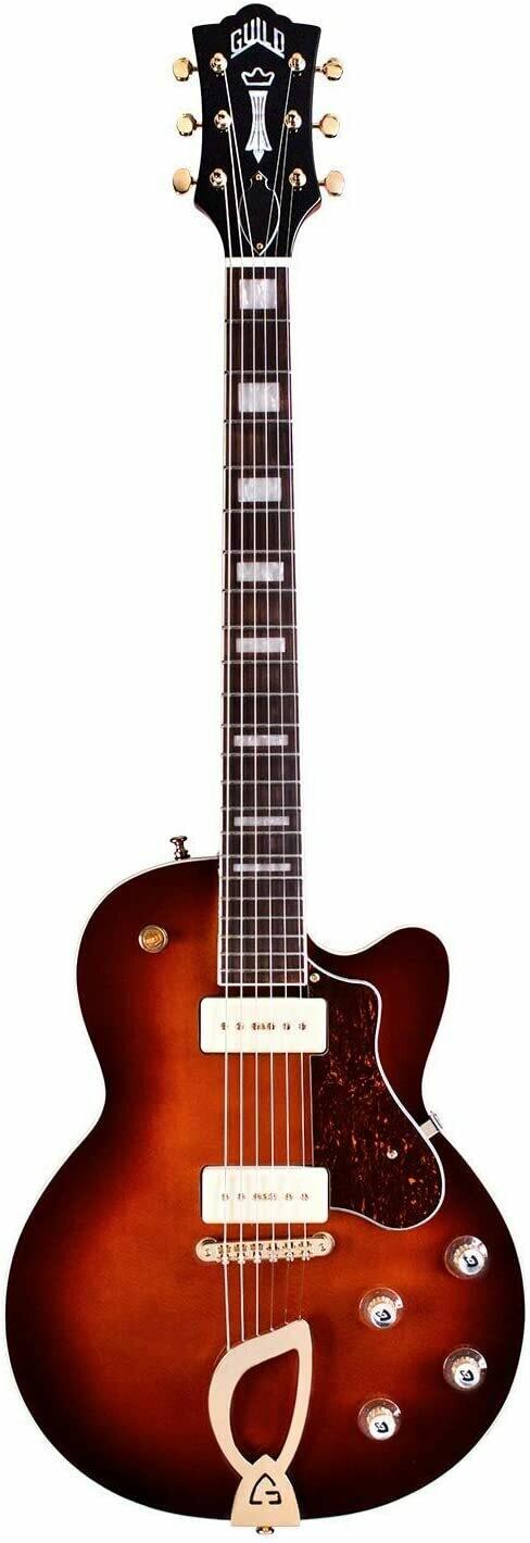 Guild Aristocrat P-90 Vintage Sunburst - Solid Body Electric Guitar - 2020