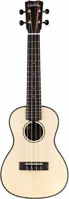 Cordoba 21C Solid Spruce Top, Striped Ebony Concert Ukulele