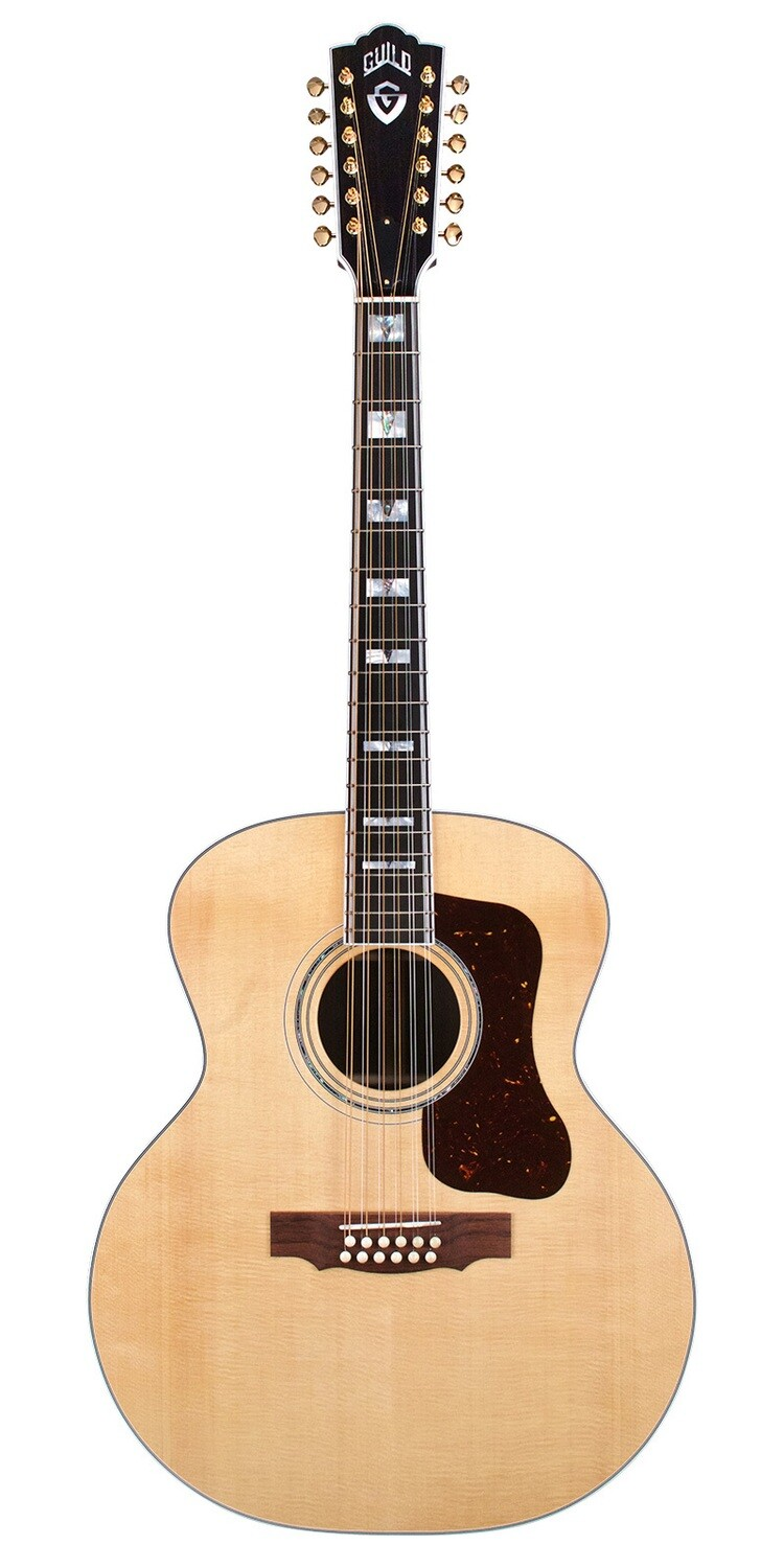 Guild F-512E - 12 String Acoustic Electric Guitar - Made in the USA
