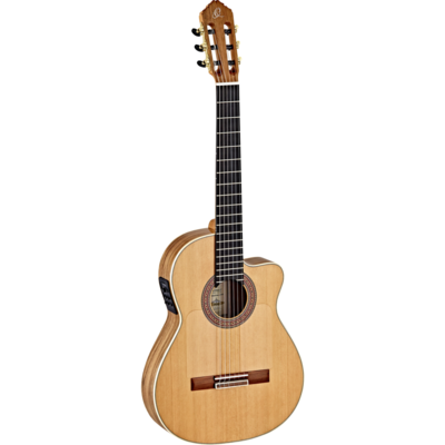 Ortega Ben Woods Signature Flamenco Negra (BWSM/2) - Solid European Walnut Back/Sides - Made in Spain