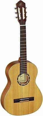 Ortega Guitars R122 - ¾ Size - 590mm - Cedar Top/Mahogany Body, Satin Finish with Gig Bag