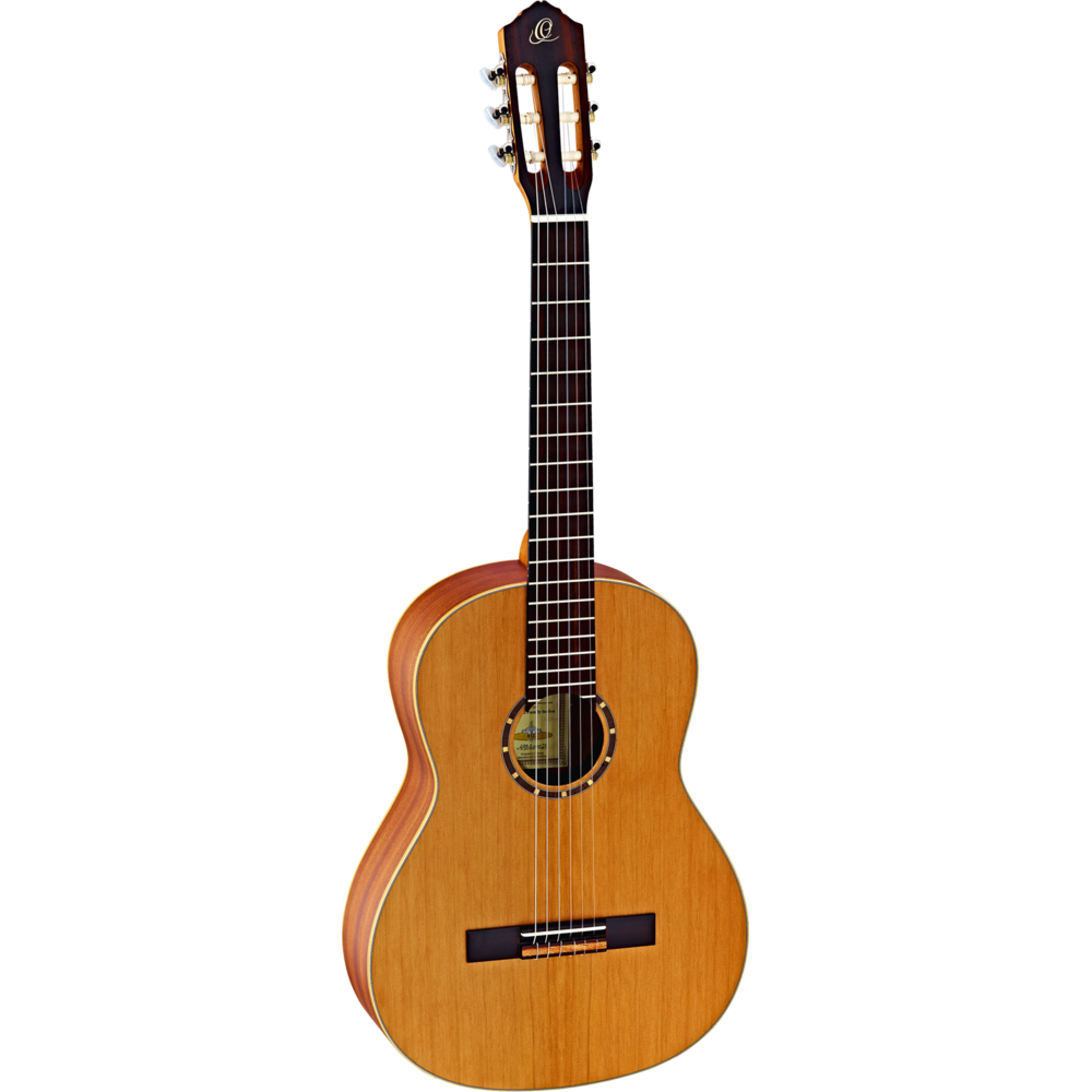 Ortega Guitars R122 - Full Size - 650mm - Cedar Top/Mahogany Body, Satin Finish with Gig Bag