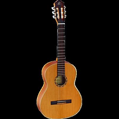 Ortega Guitars R122 - Full Size - 650mm - Cedar Top/Mahogany Body, Satin Finish with Gig Bag
