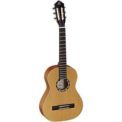 Ortega Guitars R122 - ½ Size - 560mm - Cedar Top/Mahogany Body, Satin Finish with Gig Bag