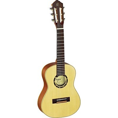 Ortega Guitars R121 - ¼ Size - 438mm - Spruce Top/Mahogany Body, Satin Finish with Gig Bag
