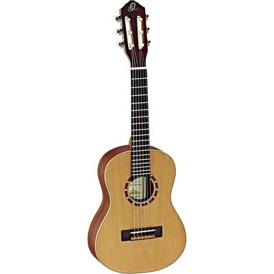 Ortega Guitars R122 - ¼ Size - 438mm - Cedar Top/Mahogany Body, Satin Finish with Gig Bag