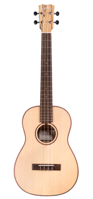 Cordoba 24B - Baritone Ukulele, Solid Spruce Top, Spalted Maple Back/Sides