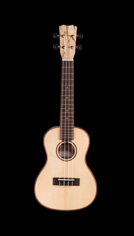 Cordoba 24C - Concert Ukulele - Solid Spruce Top, Spalted Maple Back/Sides