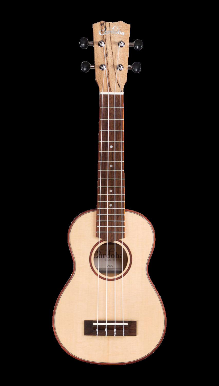 Cordoba 24S Soprano Ukulele - Spruce Top, Spalted Maple Back/Sides