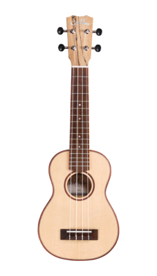 Cordoba 24S Soprano Ukulele - Spruce Top, Spalted Maple Back/Sides