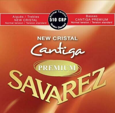Savarez Cantiga Premium 510 CRP - New Cristal Series -  Outstanding Basses!